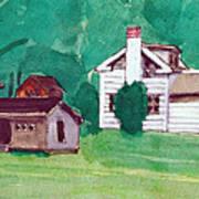 Murray Hill Watercolor Art Print