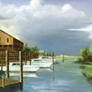 Murrells Inlet  South Carolina Art Print
