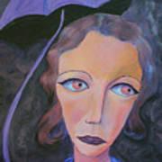 Muse And Umbrella Art Print