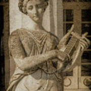 Achilleion, Corfu, Greece - The Muse Terpsichore Art Print