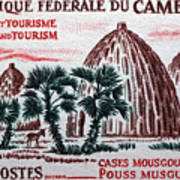 Musgum Houses Art Print