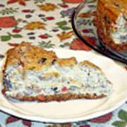 Mushroom And Crab Savory Cheesecake Art Print