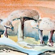 Mushroom Heaven Art Print by Mindy Newman