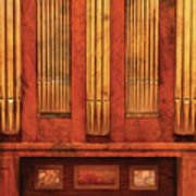 Music - Organist - Skippack  Ville Organ - 1835 Art Print