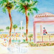 Music At Orange Beach Art Print