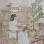 Music Box Dancer Art Print