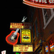 Music City Nashville Print by Susanne Van Hulst
