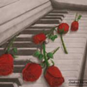 Music Creates Beautiful Things Art Print