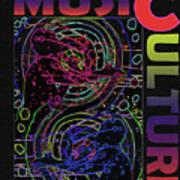 Music Culture Art Print