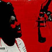 Music Icons - Aretha Franklin Ill Art Print