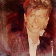 Music Icons - David Bowie Iv Art Print