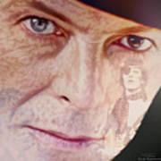 Music Icons - David Bowie Vll Art Print