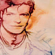Music Icons - David Bowie Vlll Art Print