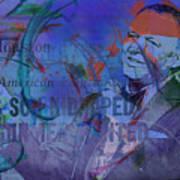 Music Icons - Frank Sinatra Iv Art Print