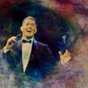 Music Icons - Michael Buble IIi Art Print