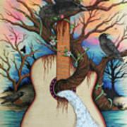 Music Is My Nature Art Print