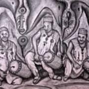 Music-making For Cosmic Unity #1 Art Print