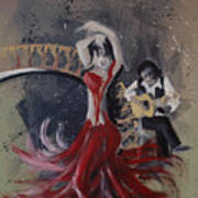 Musica Espaniol Art Print