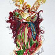 Musical Angel Art Print
