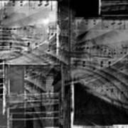 Musical Steps... Art Print