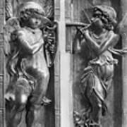 Musician Angels, C1450 Art Print