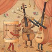 Musicians Art Print