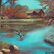 Muskego Lake Art Print