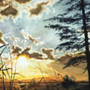 Muskoka Dawn Art Print