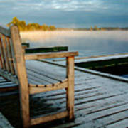 Muskoka Lake At Sunrise Art Print