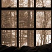 Muskoka Winter 7 Art Print