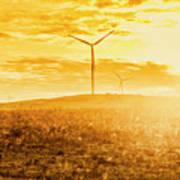 Musselroe Wind Farm Art Print