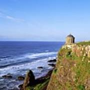 Mussenden Temple, Portstewart, Co Art Print