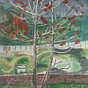 Mussorie_foothills Art Print