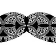 Mustache Tee Art Print