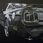 Mustang Rear Art Print
