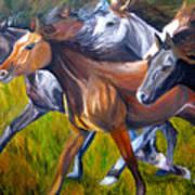 Mustang Spirit Art Print
