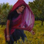 Mustard Fields Of India Art Print