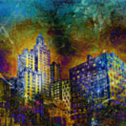 My City Providence Art Print