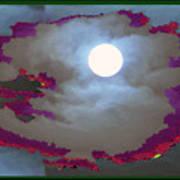 My Dream Moon Moonshine Sky Art Print