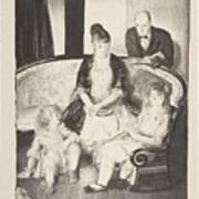 My Family, Second Stone George Bellows  Art Print