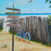 My Favorite Beaches Art Print