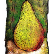 My Favorite Pear One Art Print
