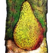 My Favorite Pear One Art Print