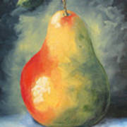 My Favorite Pear  Art Print