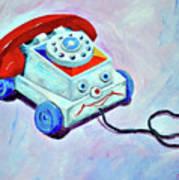 My First Eye Phone  Art Print