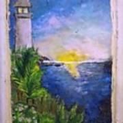 My First Light House Art Print