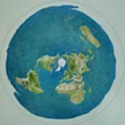 My Flat Earth Art Print