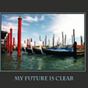 My Future Is Clear Art Print