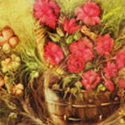 My Garden Of Roses Art Print by Fatima Stamato