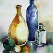 My Glass Collection Iv Art Print